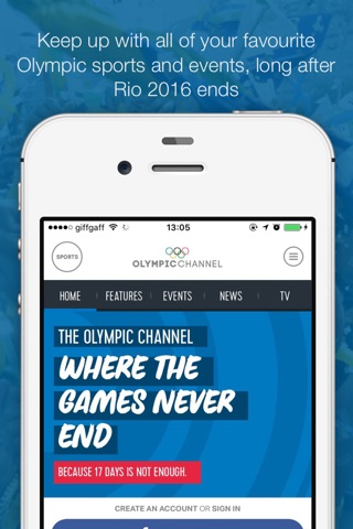 Olympic Channel screenshot 1