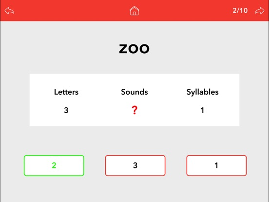 Screenshot #5 for Word Sounds / Phonemes by Teach Speech Apps