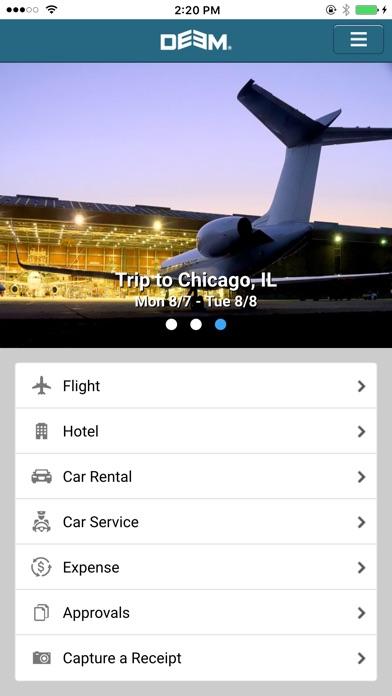 Deem Business Travel & Expense Скриншоты3
