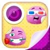 表情符號 照片貼紙: 可愛貼紙 和 粉紅色 大頭貼