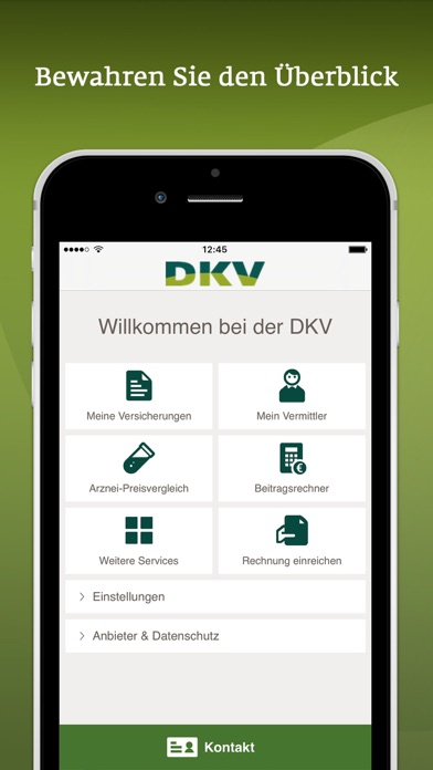 dkv app im app store. Black Bedroom Furniture Sets. Home Design Ideas