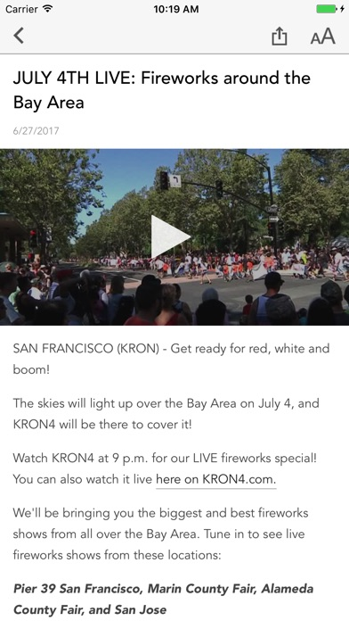 download KRON4 News - San Francisco apps 4