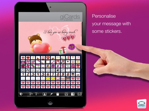 giCards-Love screenshot 3