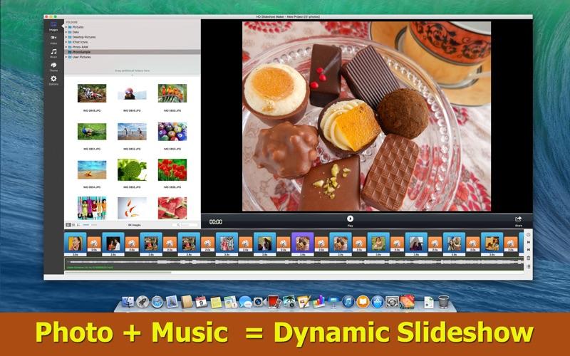 HD Slideshow Maker : Photos & Videos & Music Mixer Screenshot