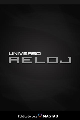 Universo Reloj screenshot 1