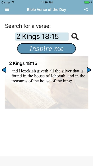Bible Verse of the Day Young's Literal Translation