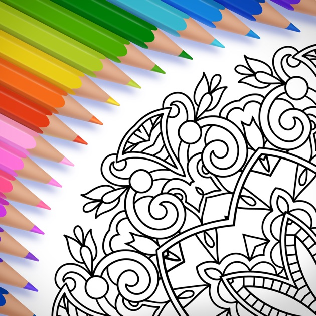 Colorfy Coloring Book For Adults On The App Store