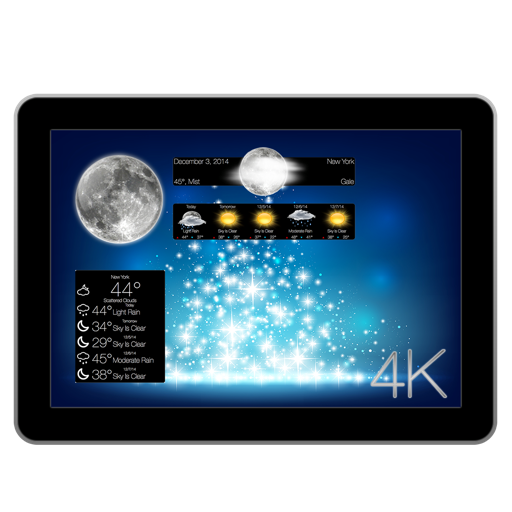Mach Desktop 4K - Video, GIF, Quartz, as Wallpaper