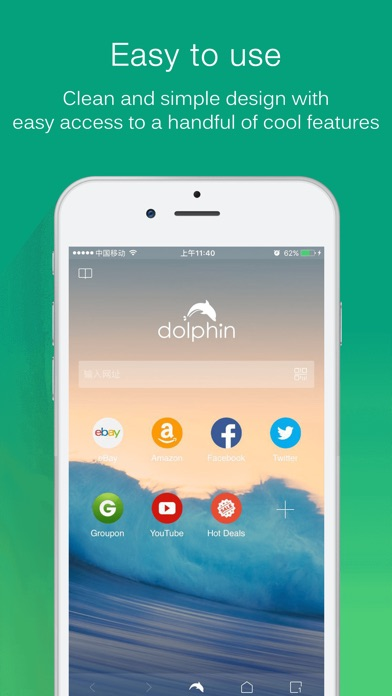 Dolphin Web Browser Screenshots