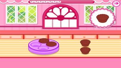 العاب طبخ كب كيك بالشوكولاته مع ماما سارةلقطة شاشة2