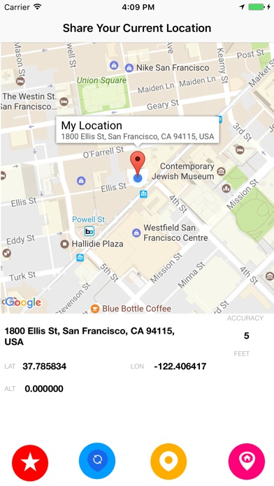 how to find my location