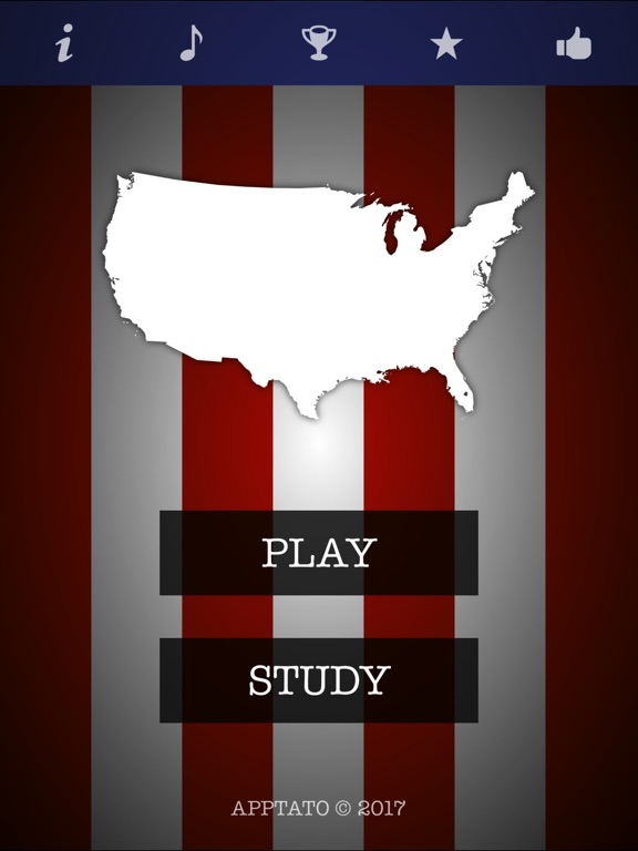 Us Quiz 50 States Multiple Choice Test On The App Store: 50 States Quiz Multiple Choice At Usa Maps