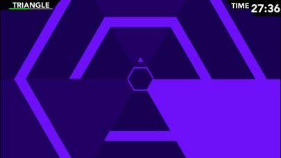 Screenshot #3 pour Infinite Hexagon - Super Geometry Mania!