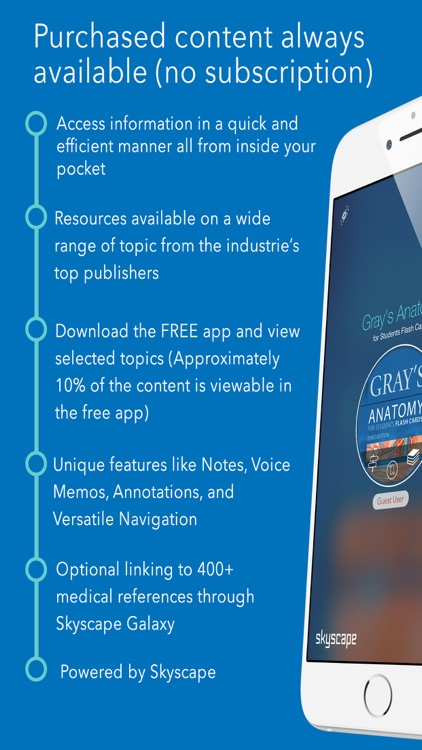 Gray\'s Anatomy for Students Flash Cards by Skyscape Medpresso Inc