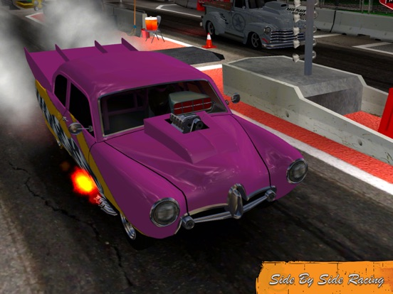Screenshots of Door Slammers Drag Racing for iPad