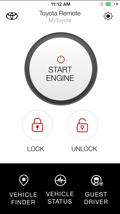 toyota entune remote connect on the app store. Black Bedroom Furniture Sets. Home Design Ideas