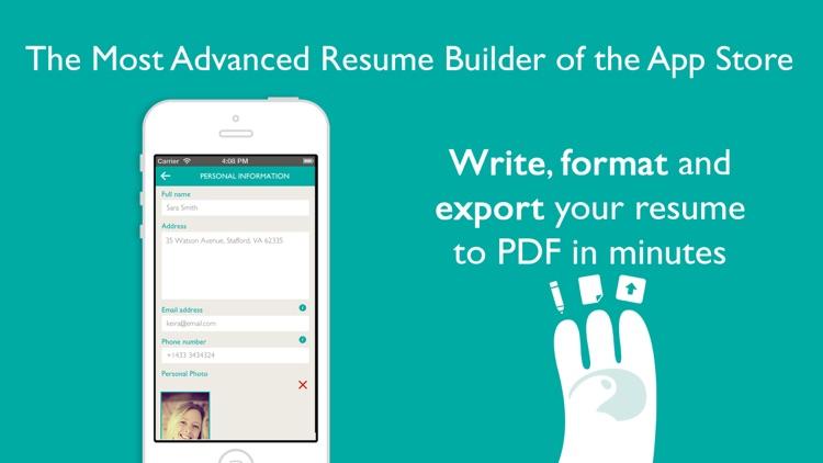 resume designer pro produce elegant resumes