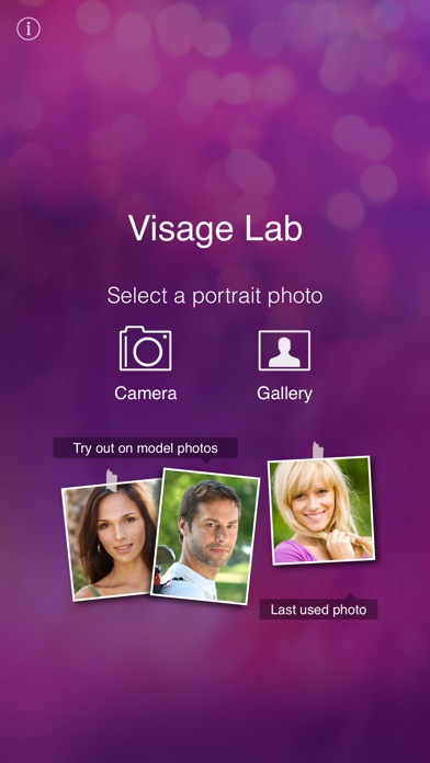 Visage Lab PROHD photo retouch Screenshots