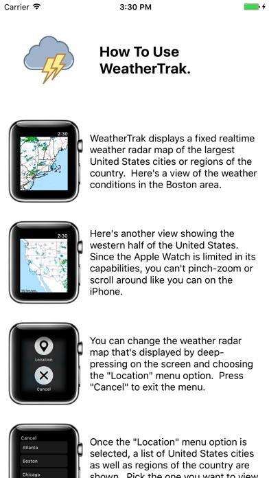 Screenshot #1 for Aptraka WeatherTrak