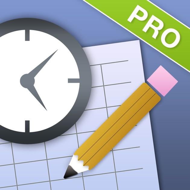 timesheet pro timecard clock calculator tracker on the app store