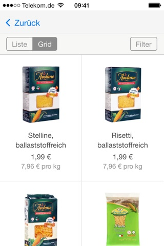 QUERFOOD - glutenfrei leben screenshot 3