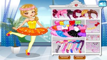 لعبة تلبيس راقصة الباليه الصغيرة و الجميلةلقطة شاشة4