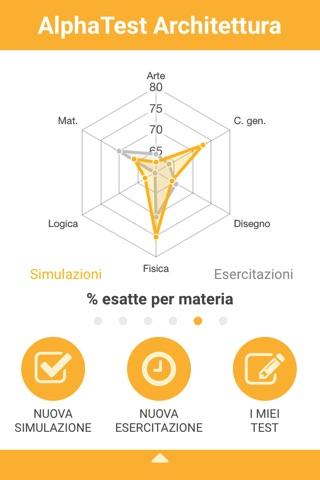AlphaTest Architettura screenshot 2