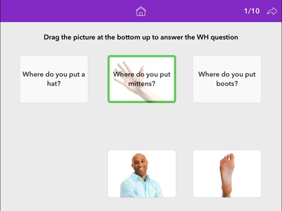 Screenshot #4 for Wh Questions by Teach Speech Apps