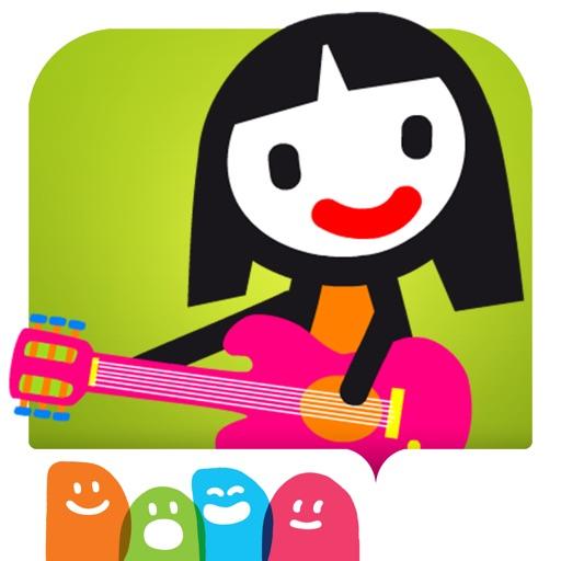 D5EN5: Les instruments - Un livre-jeu interactif pour les enfants