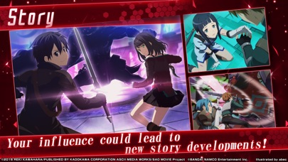 SwordArtOnline: IntegralFactor Screenshots