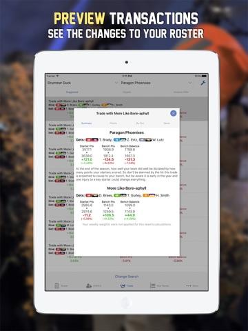 Waiver & Trade Dominator '17 screenshot 4