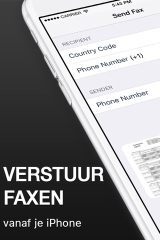 Fax from iPhone - Send Fax App screenshot 1