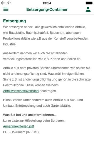 Kirn Entsorgungs GmbH screenshot 3