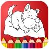 Coloring Paw Page Drawing Patrol Games