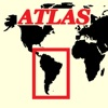 mapQWIK SA - Südamerika Zoombare Atlas