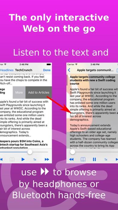 Screenshot #6 for Speech Central: Text to Speech