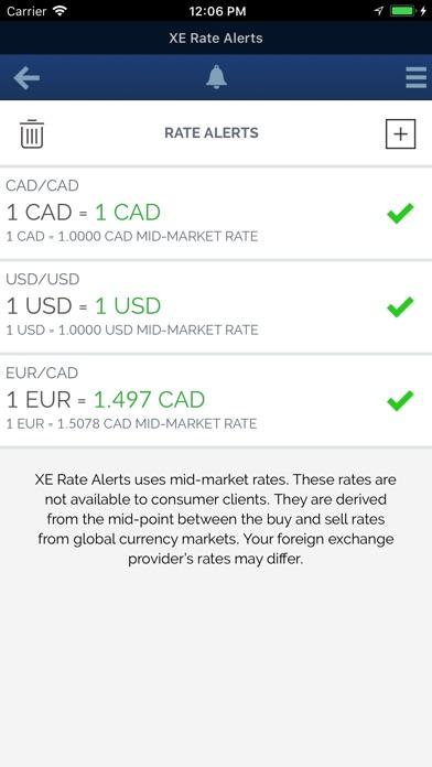 XE Currency Proスクリーンショット