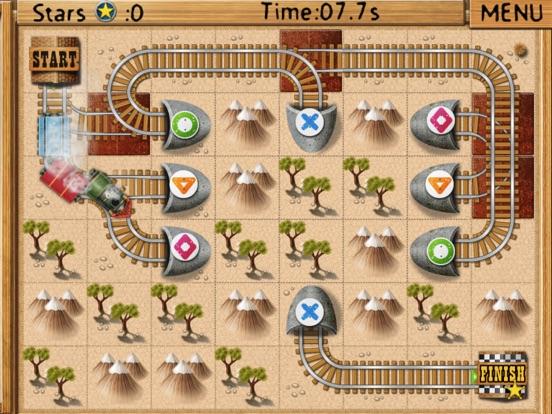 Rail Maze : Паровозики для iPad