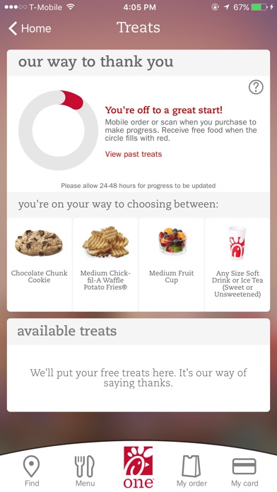 Chick-fil-A on the App Store