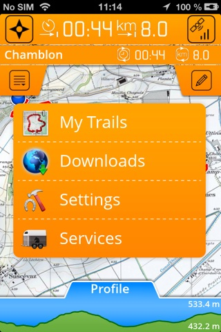 Horsetrails screenshot 2