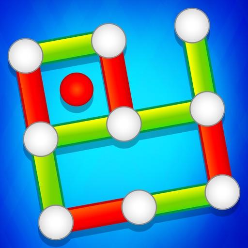 Dots & Boxes Christmas Game