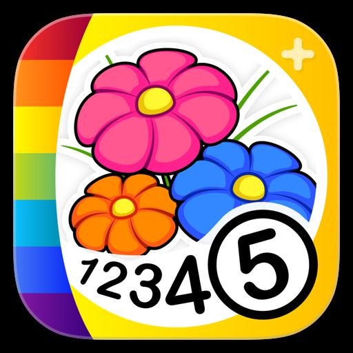 Malen nach Zahlen - Blumen +