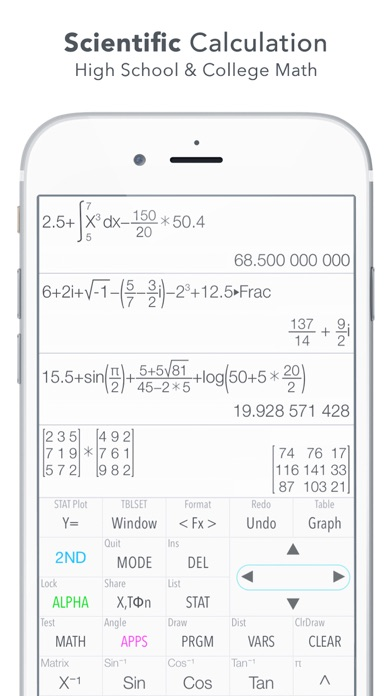 Graphing Calculator Plus screenshot 2