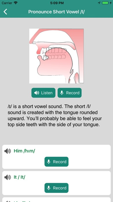 English Pronunciation Practice screenshot 3