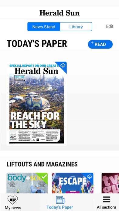 Herald Sun. Скриншоты4