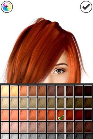 Hairstyle Magic Mirror screenshot 4