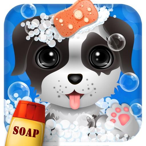 为宠物洗澡app icon图