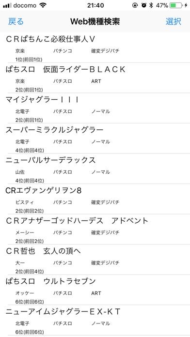 パチンコ/パチスロ収支 screenshot1