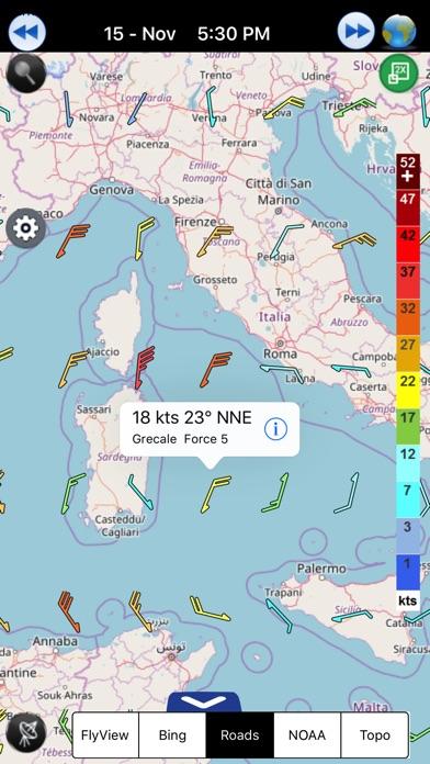 прогноз ветраСкриншоты 3