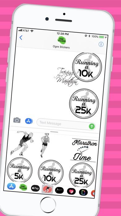 download Autocollants Runner apps 1
